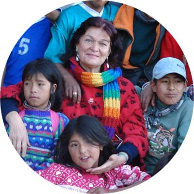 Marianne Sébastien et les enfants